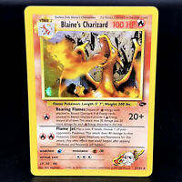 Blaine's Charizard Holo - Gym Challenge 2/132 - WoTC Rare Pokemon Card - NM