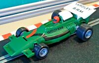 Vintage 1975 Scalextric 1:32 C103 Yardley BRM P160 British Racing PRINTED TAMPO