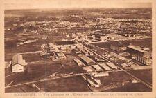 ROCHEFORT vue aérienne sur l'école des mécaniciens de l'armée de l'air (France)