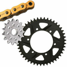 Vortex Kawasaki ZX6R 2007-2018 V3 2.0 Gold Chain Sprocket Kit 15-43 G520RX3