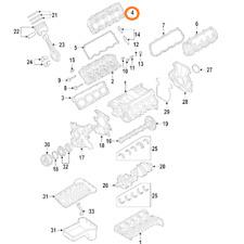 Ford 3C3Z-6C288-BA Genuine OEM Excursion F250 F350 F450 F550 Mounting Plate