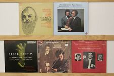 Lot of 10 Classical Violin LP's Stern Zukerman Heifetz Perlman Gimpel Fodor More