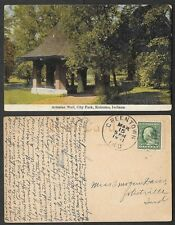 1911 Indiana Postcard - Kokomo - Artesian Well in City Park
