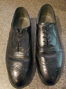Red Wing ReadiFlex Men's Work Oxford Shoes 8701 Black Size 10.5 EE Steel Toe