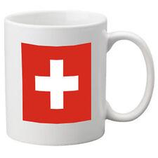 BANDIERA Svizzera TAZZA IN CERAMICA. 11oz Tazza, Grande Novità Tazza.