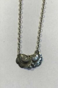 Georg Jensen Sterling Silver Necklace No 50A
