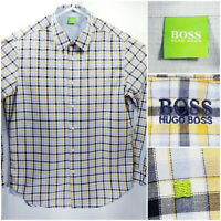 Hugo Boss Green Label Mens Large Shirt Long Sleeve Button Up