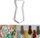 Baking Cookie Biscuit Cutter Tools Stainless Steel Tie Wedding Cake Cupcake