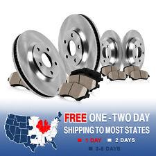 Front and Rear Brake Disc Rotors & Ceramic Pads Kit SUBARU BAJA LEGACY OUTBACK