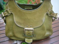 MULBERRY vintage darwin leather apple green Phoebe bag genuine