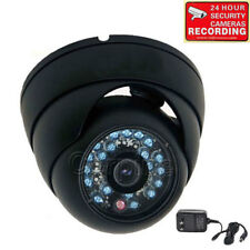 Security Camera 600TVL w/SONY CCD IR Outdoor Night Infrared Wide Angle Power 1O4