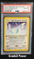 Pokemon Light Dragonair PSA 10 (7776) 22/105