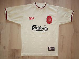 Liverpool 1996-1997 Steve McManaman Away Shirt Reebok Size 34-36 (S)