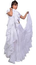 25 Yard 4 Tier Skirt Belly Dance Tribal  bohemian tiered gypsy Skirt