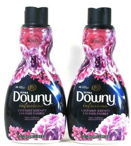 2 Count Ultra Downy 41 Oz Infusions Lavender Serenity 48 Lds Fabric Conditioner