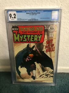 House of Mystery #195 CGC 9.2 White pages Swamp Thing Prototype Classic Cover