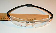 Tag Heuer Eye Glasses Black TH-5201-001 Titanium Rimless 58 15 140 Wrap Around