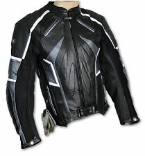 GIACCA MOTOCICLISTA,Giacca,MOTO, GIACCA IN PELLE, ATROX NF-1111 Gr. 3XL