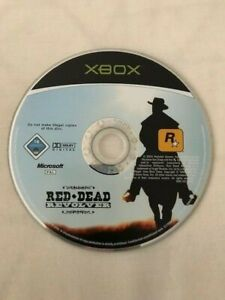 Xbox Red Dead Revolver DISC ONLY PAL Xbox360 Compatible