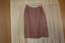 Anne Klein Light Purple Silk/Chiffon Beaded  Skirt Size 6