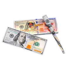 3 Wallets $100 Dollar Bill Rolling Papers King Size Cigarette Rolling Papers