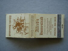 ALFRED'S HOMESTEAD STH WARRANDYTE 3134 LICENSED RESTAURANT 8443013 - MATCHBOOK