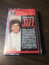 Simon Rattle - The Jazz Album (Cassette, 1987)