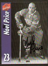 Noel Price signed autographed Molson Export Card