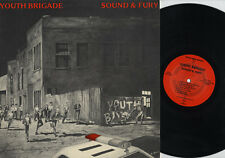 Youth Brigade Sound & Fury Vinyl LP Record american hardcore punk rock album NEW