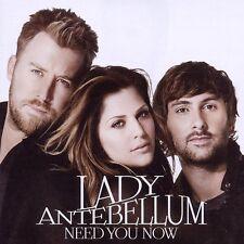 LADY ANTEBELLUM NEED YOU NOW: CD ALBUM