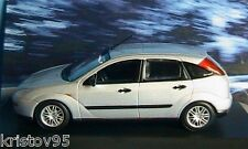 FORD FOCUS 5 TURIG 1998 SILVER MINICHAMPS 1/43 SILBER