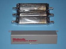 3 NEW NINTENDO NES 72 PIN CONNECTORS & DOOR REPLACEMENT PART LOT WITH GUARANTEE