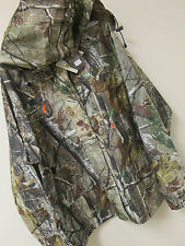 New SHE Outdoor Camo Womens Rain Jacket Safari Size MED Realtree AP Hunting $120