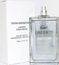 LACOSTE POUR HOMME TSTR 3.3/3.4 OZ EDT SPRAY BY VERSACE & NEW IN A TSTR BOX