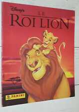 ALBUM PANINI LE ROI LION 1994 INCOMPLET  DESSIN ANIME 129 STICKERS DISNEY SIMBA