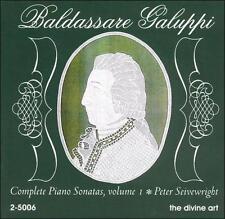 Baldassare Galuppi: Complete Piano Sonatas, Vol. 1, New Music