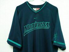 Seattle Mariners Jersey Nike sewn MLB baseball L Griffey Edgar Cano Ichiro EUC