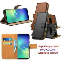 FinestBazaar Case for Samsung Galaxy Leather Wallet Case Flip Notebook Cover