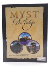 PC Spiel - Myst: Die Trilogie (mit OVP)(Bigbox)