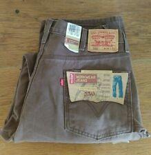 NWT Levi's  550 36 x 32 Workwear Jeans, Utility Hammer Loop Heavy Duty Brown