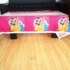 Disney Princess 108cm*180cm Table Cloth Happy Birthday Party