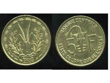 ETATS DE L'AFRIQUE DE L'OUEST  5 francs 2009 ( SPL )  ( bis )