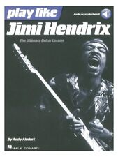 Play Like Jimi Hendrix Learn to SONGS HITS BEGINNING Guitar Tab STUDY MUSIC BOOK