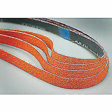 Waterproof 75 Length 37 Width Zirconia Alumina Cloth Backing Grit 36 Norton NorZon Plus R824 Cloth Abrasive Belt Pack of 2
