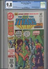 New Teen Titans #16 CGC 9.8 1982 DC: First Captain Carrot: NEW FRAME