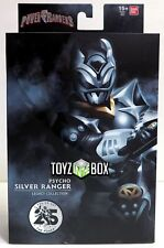 Power Rangers Legacy Collection SDCC 2018 Psycho Silver Ranger Action Figure