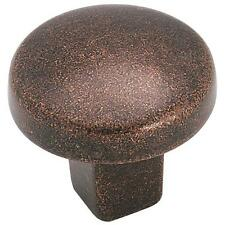 "25 Pk Amerock 1-1/4"" Dia Rustic Bronze Cabinet Door Drawer Pull Knob BP4425-RBZ"