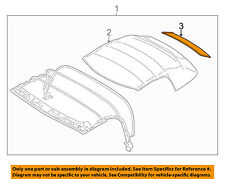 BMW OEM 96-02 Z3- Rear Window with zip fastener 54318401027