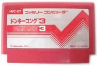 DONKEY KONG 3 III FAMICOM NES FC NINTENDO 1984 JAPAN