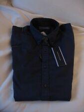 Tommy Hilfiger Hemd aus Baumwolle-Twill, navy (peacoat-pt), Größe S, neu